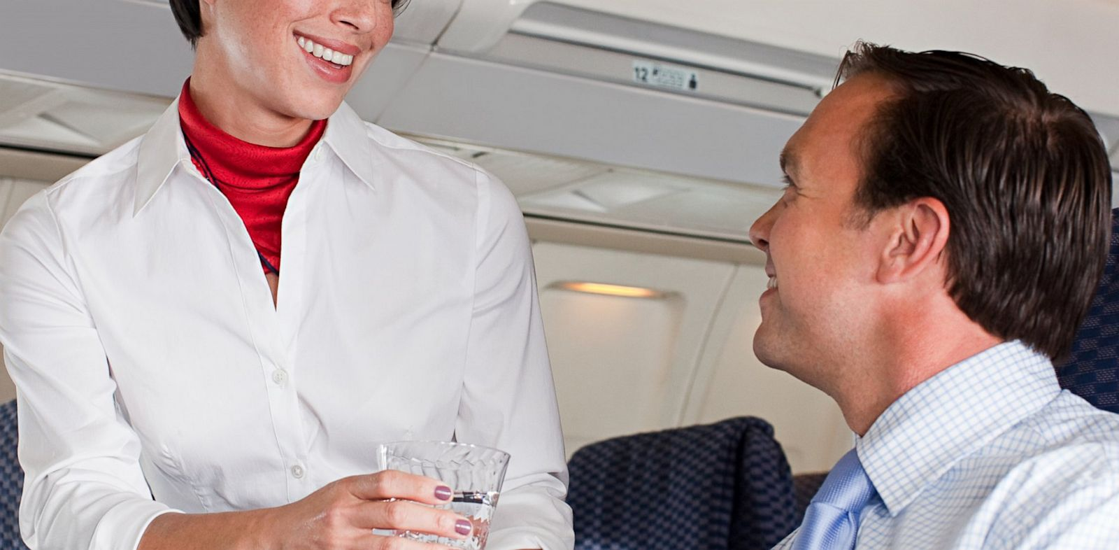 PHOTO: Tipping flight attendants isnt usually expected, but is it taboo?