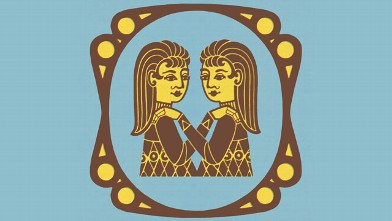 PHOTO: Gemini Zodiac Symbol