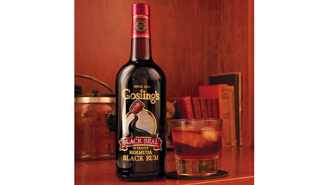 PHOTO: If there's one thing you need to know about making a proper Dark and Stormy, it's to be sure to use Goslings Black Seal rum.