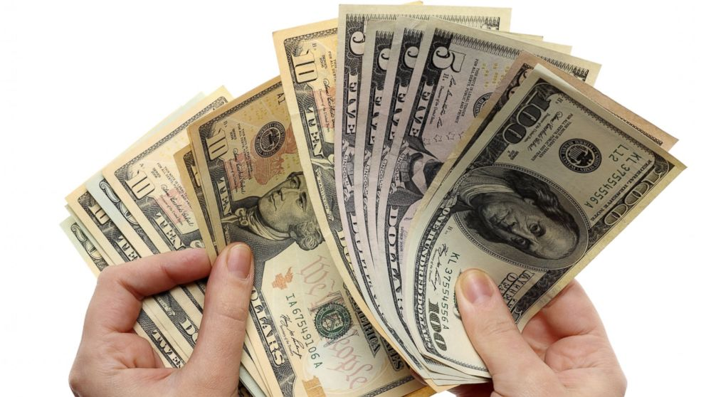 PHOTO: US banknotes are seen in an undated stock photo.