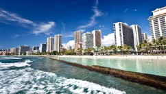 PHOTO: Waikiki Beach in Honolulu, Hawaii.