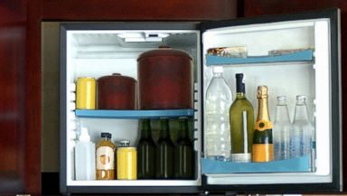 PHOTO: That hotel minibar could be more expensive than you thought.