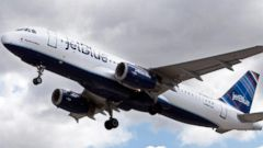 PHOTO: JetBlue announced a new fare structure that will eliminate free checked bags on some tickets.
