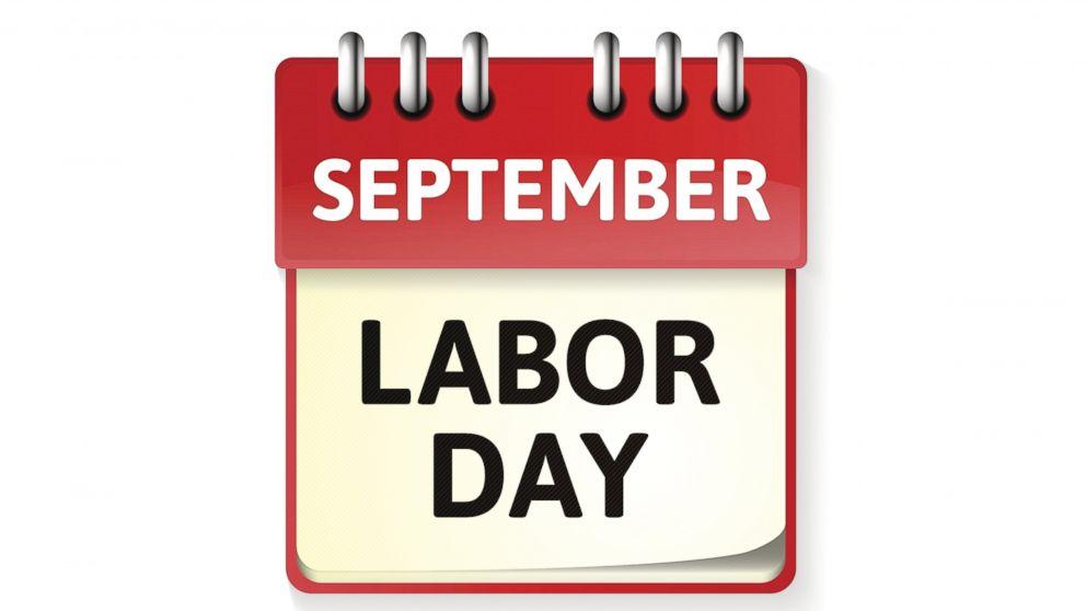 PHOTO: Labor Day falls on Monday, Sept. 1, 2014.