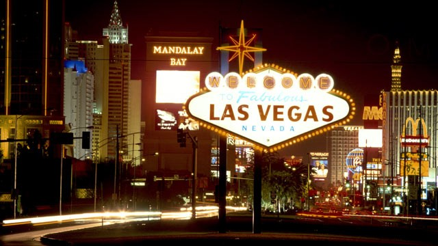 PHOTO: General view of the Las Vegas 'Strip,' Las Vegas, Nev.