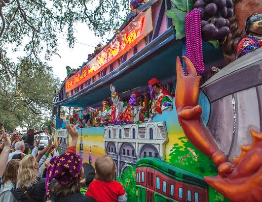 Mardi Gras 2013 in New Orleans