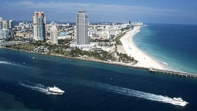 PHOTO: An aerial view of Miami Beach.