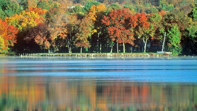 PHOTO:&nbsp;Lovell Lake, in Carroll County in eastern New Hampshire, is shown in this file photo.