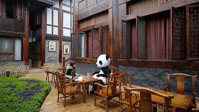 World's First Panda Hotel Opens in China