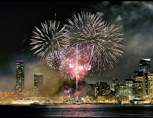 Top 10 cities to celebrate New Year's Eve