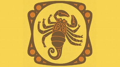 PHOTO: Scorpio Zodiac Symbol