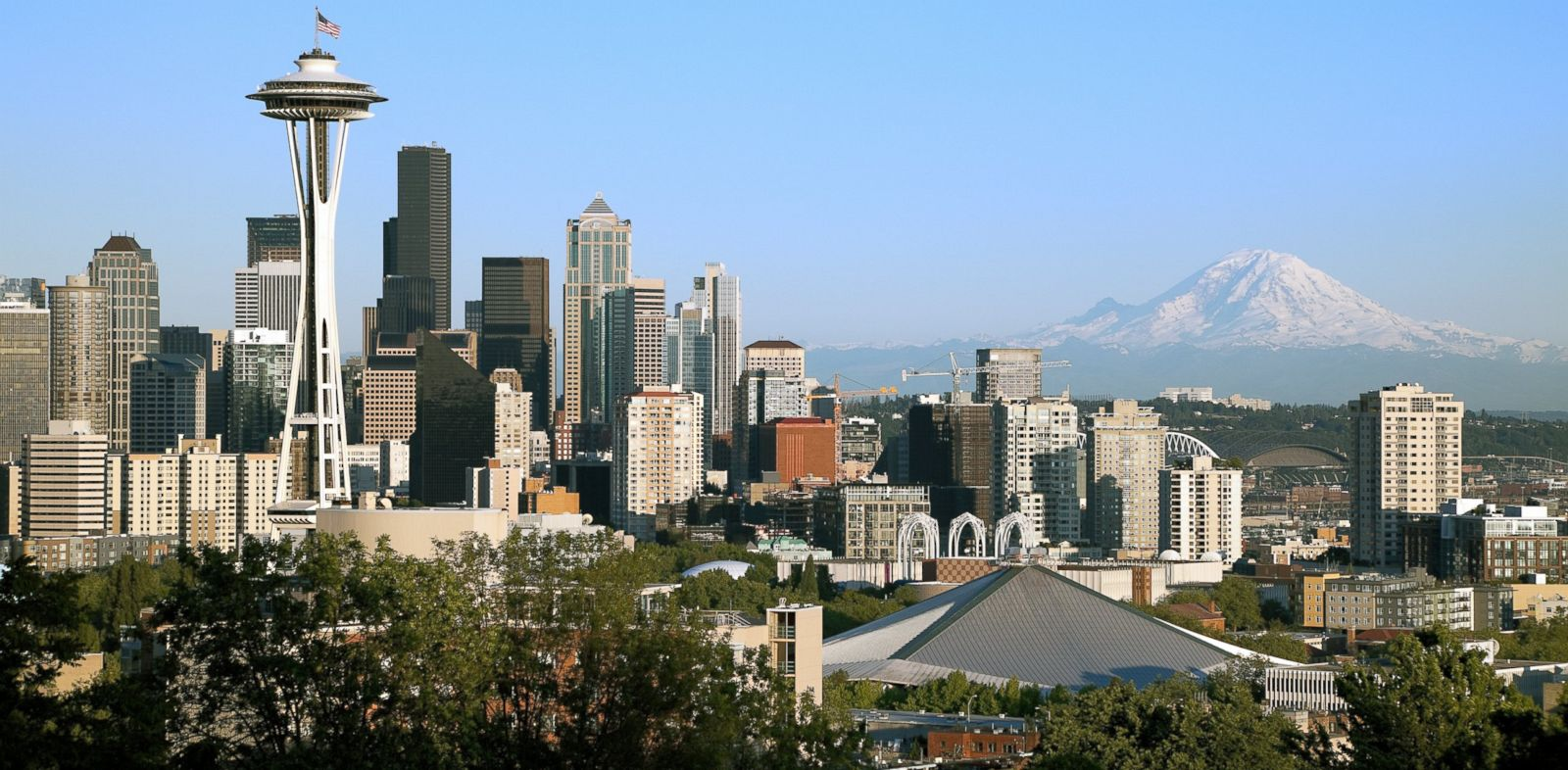 PHOTO: Its tough to beat the 360-degree views from the famous 52-story Space Needle. But the shore is a great alternative.