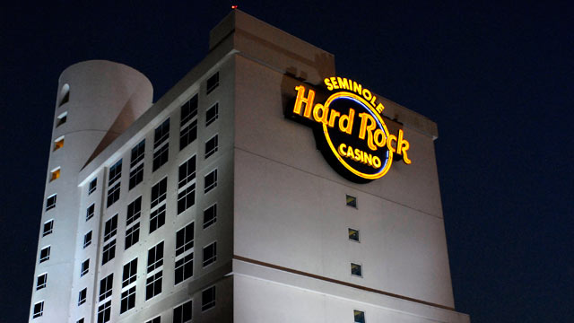 PHOTO: General view of the Seminole Hard Rock Cafe Hotel and Casino where Anna Nicole Smith collapsed on Feb. 8, 2007 in Hollywood, Florida.
