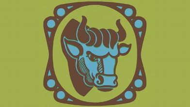 PHOTO: Taurus Zodiac Symbol