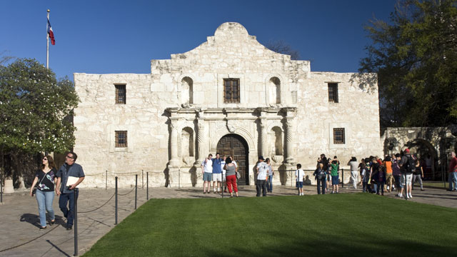 PHOTO: Places like The Alamo and the legendary Menger Hotel in San Antonio Texas are great spots for hunting ghosts.