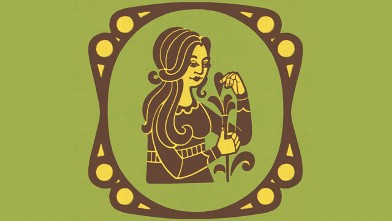 PHOTO: Virgo Zodiac Symbol