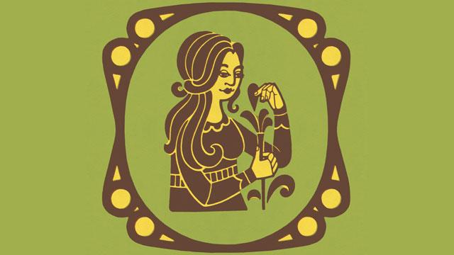 PHOTO: Virgo Zodiac Symbol
