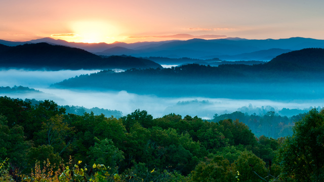PHOTO: Walland, Tenn. sunrise.