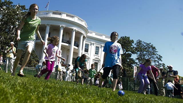 PHOTO: White House Easter Egg Roll