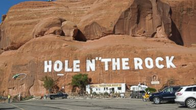 PHOTO: Hole N the Rock in Moah, Utah