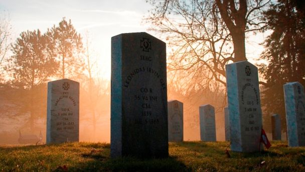 PHOTO: Hollywood Cemetery in Virginia