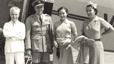PHOTO: The pilots uniforms for Qantas Airlines, 1935.