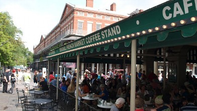 PHOTO: A must on any first-time trip to New Orleans, Cafe Du Monde is a Crescent City institution.