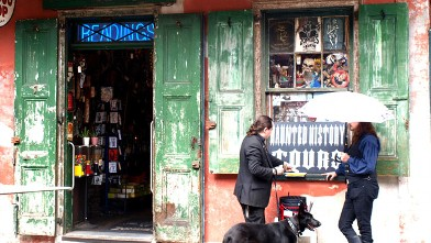 PHOTO: The Haunted History Walking Tour starts at a voodoo shop.