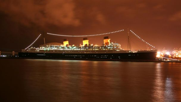 PHOTO: Queen Mary, Zombie Hangout on Long Beach, Calif.