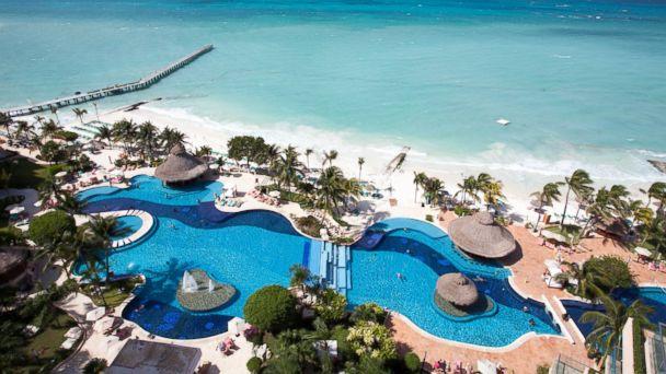 Fiesta Americana Grand Coral Beach Resort & Spa in Cancun, Mexico.