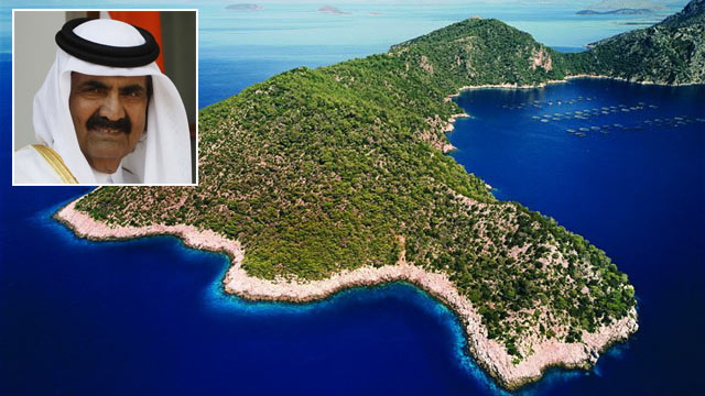 PHOTO: Oxia is part of the Ionian Islands in Greece.