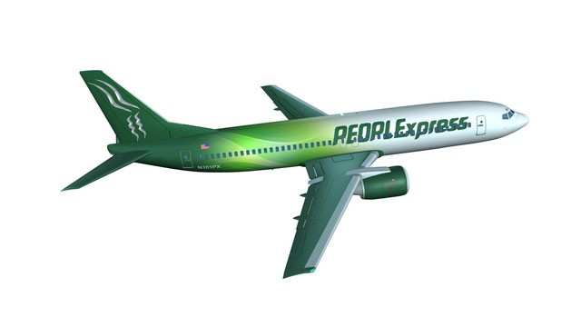 PHOTO: A new PEOPLExpress Airlines will take to the skies in 2012.