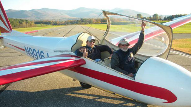PHOTO: Soar over Stowe, Vermont, in a lightweight, aerodynamic glider.