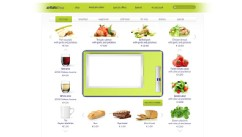 PHOTO: Air Baltic's new food ordering system lets passengers customize the food on their tray.