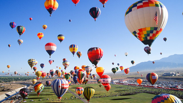 PHOTO: New Mexico hosts the most epic hot air balloon festival in the United States.