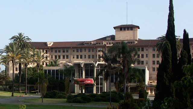 PHOTO: The Ambassador Hotel, formerly on Wilshire Boulevard in Los Angeles, Cali. is seen this 2004 file photo before it's demolition in 2009.