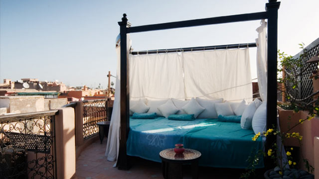 PHOTO: Contemporary luxury lodging brand Angsana offers its own take on the Moroccan riad.