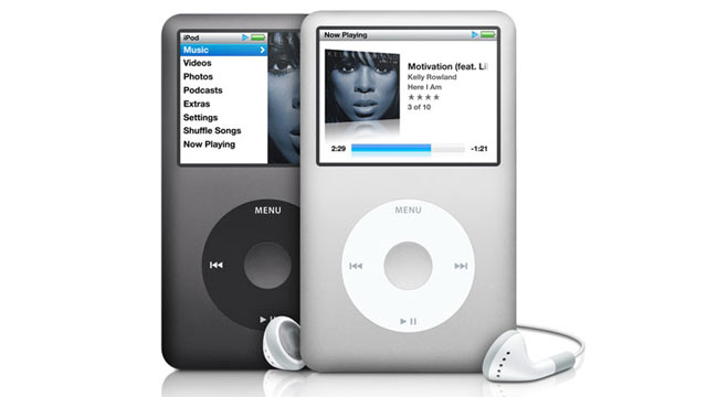 PHOTO: The Apple Classic I-Pod is seen here.