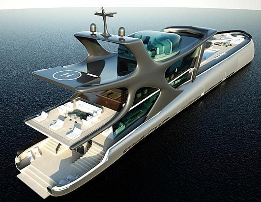 Lavish Mega-Yachts