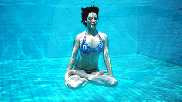 PHOTO: If you prefer to be in the water rather than floating on it, aqua yoga is a low-impact, more body-balancing alternative to land-based versions. It's a favorite of pregnant women, disabled persons, and others with limited mobility.