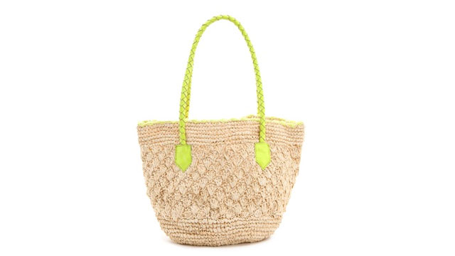 PHOTO: Sirena Raffia Tote