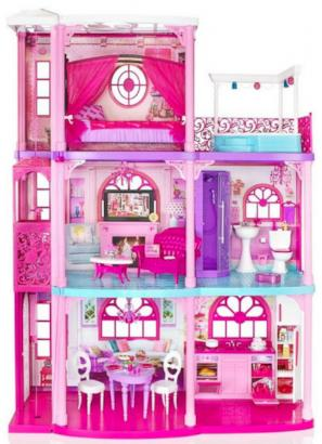 Barbie's Dream Townhouse Gets a Makeover