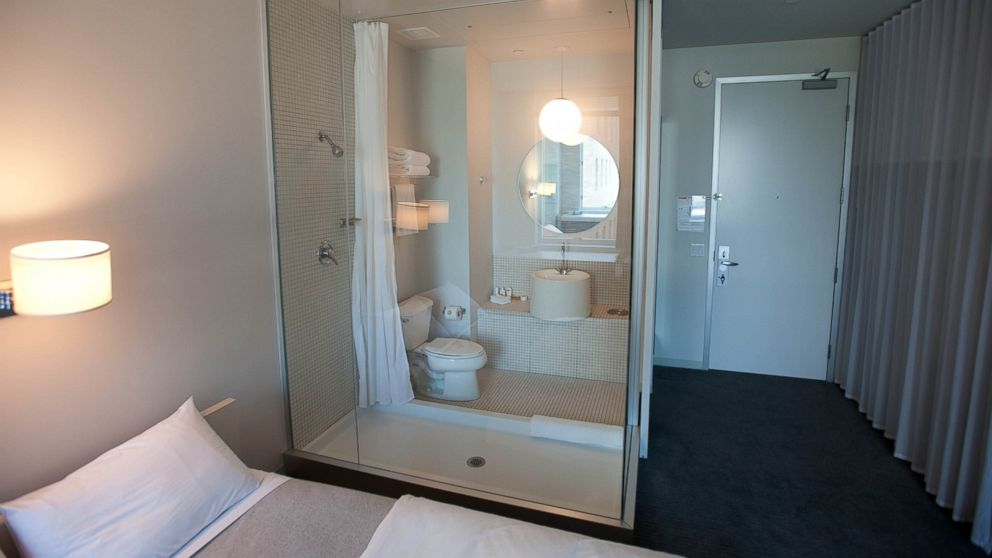 . 10 Sexiest See Through Hotel Bathrooms   ABC News