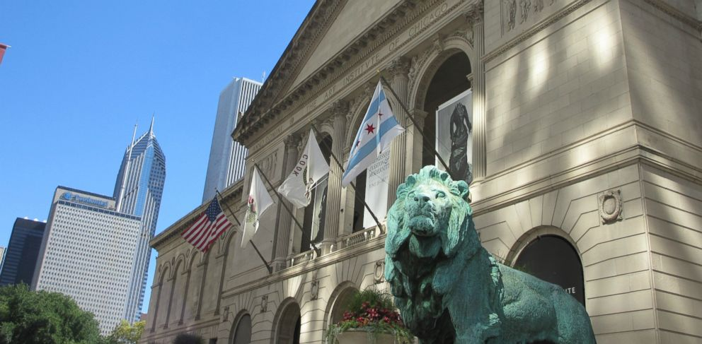 PHOTO: 1. Art Institute of Chicago, Chicago, Illinois