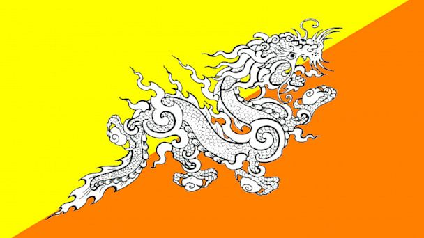 PHOTO: Bhutan - Druk (The Thunder Dragon)