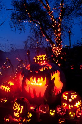 Jack-O-Lantern Spectacular Showcases Carvings