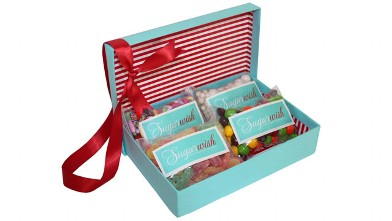 PHOTO:Sugarwish is the first and only e-commerce candy gift site to offer candy customization based on the recipients sweet tooth,