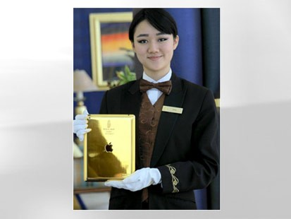 Hotel Offers 24-Carat Gold iPads