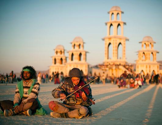 Burning Man Through the Years
