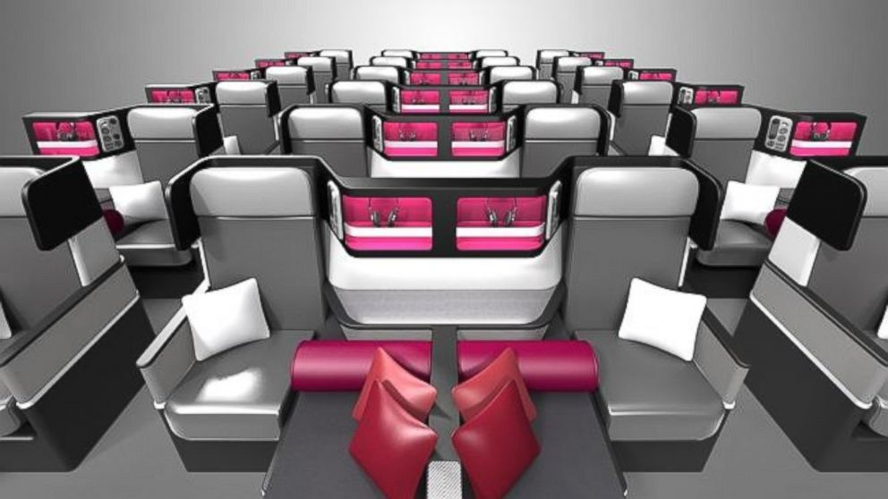 39 butterfly 39 seating design a boon to long haul flights for International seating and decor
